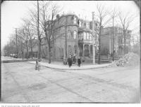 Historic photo from 1909 - Buildings to come down at Beverley and St. Patrick streets for Grange park in Art Gallery of Ontario
