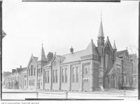 Historic photo from 1909 - Beverley Street Baptist Church, Beverley and Sullivan streets in Art Gallery of Ontario