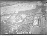 Historic photo from 1930 - Aerial view of the Bridle Path - north end of Bayview to the mid left, Sifton\ in Bridle Path