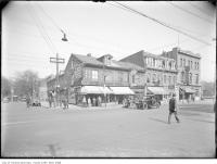Historic photo from 1926 - North side of Queen Street West between Simcoe Street and University Avenue in Downtown