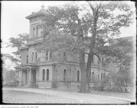Historic photo from 1920 - Carbrook estate with circular driveway - just south of Avenue Road and Bloor St in Royal Ontario Museum
