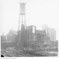 Historic photo from 1916 - Maple Leaf Milling Co. and Campbell Flour Mills Co. Ltd. in The Junction