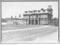 Historic photo from 1909 - South view of Government House, King Street West at Simcoe in King Street West