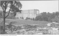 Historic photo from 1912 - Site of new University of Toronto buildings between Trinity College and Royal Ontario Museum in Royal Ontario Museum