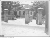 Historic photo from 1908 - Albert Nordheimer Jr.s estate, corner of Bloor Street and Avenue Road in Royal Ontario Museum