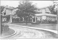Historic photo from 1910 - Fudger House (Sherbourne Villa, or Sherbourne Club) at times owned by R. Simpson and by Senator Cox in Cabbagetown