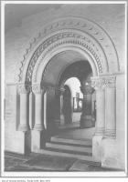 Historic photo from 1911 - Carved stone archway in University College, University of Toronto in University of Toronto (U of T)