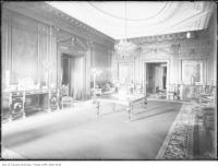 Historic photo from 1914 - Dining room, Casa Loma in Casa Loma