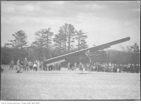 Historic photo from 1930 - Glider flight attempt in Leaside
