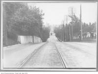 Historic photo from 1914 - Avenue Road hill looking south from Benvenuto - no cars on Sunday due to gas rationing during WWI in South Hill