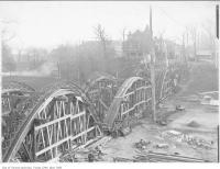 Historic photo from 1910 - Construction of Harbord Street through Bickford Park  in Bickford Park