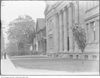Historic photo from 1929 - Bloor Street West, south side, looking east from Avenue Road in Yorkville