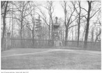 Historic photo from Saturday, April 2, 1921 - Howard monument, High Park in High Park
