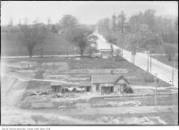 Historic photo from 1919 - Homestead on Christie Street, looking north toward Davenport Road in Davenport