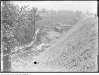 Historic photo from 1912 - St. Clair Avenue West under construction in Casa Loma
