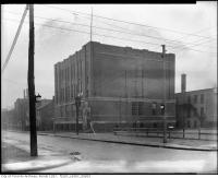 Historic photo from 1927 - Brant Street Public School on the northwest corner of Brant St. and King St. W in Alexandra Park