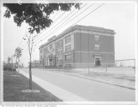 Historic photo from 1920 - Regal Road Public School in Regal Heights