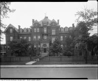Historic photo from 1925 - Edith L. Groves Public School -344 Dovercourt, near St. Anns Road in Dufferin Grove