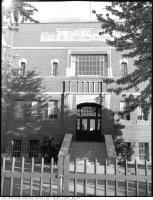 Historic photo from Sunday, July 17, 1949 - Fairbank Memorial Public School in Fairbank