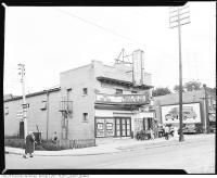 Historic photo from 1960 - Joy Theatre - showing Tarzan and the Leopard Woman - 1130 Queen Street East in Leslieville