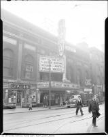 Historic photo from 1945 - Tivoli Theatre - 17 Richmond St. East - opened Nov 10, 1917 as the Allen Theatre in Downtown