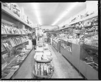Historic photo from 1960 - Village Cigar Store at Spadina Road in Forest Hill Village in Forest Hill
