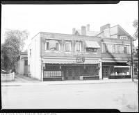 Historic photo from 1945 - Babloor Hotel - 1163-1167 Bay St., east side, between Charles St. W. and Bloor St. W. in Yorkville