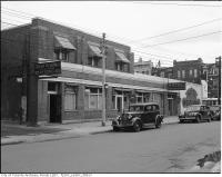 Historic photo from 1945 - Breadalbane Hotel - 2-8 Breadalbane St., on the north west corner at Yonge Street (Hotel Breadalbane) in Church-Wellesley Village
