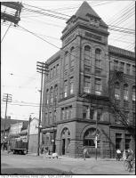 Historic photo from 1945 - Broadview Hotel at Queen St east and Broadview in Riverside-South Riverdale