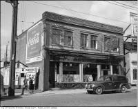 Historic photo from 1945 - A Good Hotel dining room - 572 Bay St., between Louisa St. and Dundas St. W. in Downtown