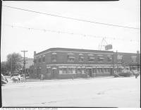 Historic photo from 1945 - The National Hotel or New Toronto Hotel on Sherbourne at King in Old Town