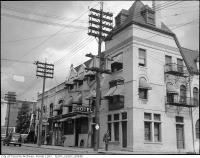Historic photo from 1945 - Rosedale Hotel at 1145 Yonge St - painted in Rosedale
