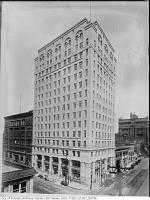 Historic photo from 1925 - Northern Ontario Building, Bay and Adelaide,  completed 1925 in Downtown