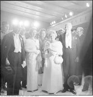 Historic photo from Saturday, October 1, 1960 - All dressed up for the grand opening of the Ofeefe Centre in St. Lawrence