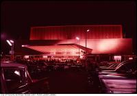 Historic photo from Saturday, October 1, 1960 - Cars and people outside the Okeefe Centre grand opening in St. Lawrence