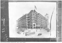 Historic photo from 1946 - Carls-Rite Hotel on Front Street - built 1893 and known as the Grand Union, then Hotel Carls-Rite, finally the Hotel Barclay in Downtown