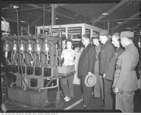 Historic photo from Friday, February 27, 1942 - Visit of Chinese officials to John Inglis Co., Ltd.   in Liberty Village