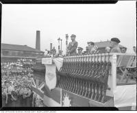 Historic photo from Friday, August 20, 1943 - Chinese official at 100,000th Bren gun ceremony, John Inglis Co., Ltd. in Liberty Village