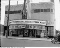Historic photo from Tuesday, August 1, 1939 - Avenue Theatre Marquee - opened 1938, closed 1955 in Forest Hill