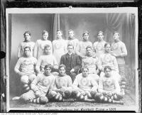 Historic photo from 1901 - 1901 Upper Canada College 1st rugby team in Deer Park