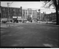 Historic photo from 1960 - Lux Italia Theatre on north side of College Street, looking north from Bellevue Avenue in Harbord Village