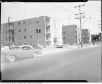 Historic photo from 1950 - Apartment building, Bathurst Street at Brookdale Avenue in Ledbury Park
