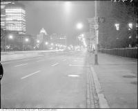 Historic photo from Saturday, November 8, 1969 - University Avenue, looking south from north of Queen Street West in Downtown