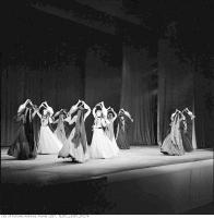 Historic photo from Sunday, May 1, 1960 - Dances with urns, Georgian State Dance Company, Maple Leaf Gardens in Church-Wellesley Village