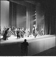 Historic photo from Sunday, May 1, 1960 - Men with swords Georgian State Dance Company, Maple Leaf Gardens in Church-Wellesley Village