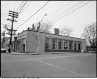 Historic photo from Thursday, February 21, 1974 - Now Dupond Subway Station - 274-278 Dupont Street, front, Bank of Nova Scotia in The Annex