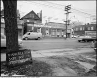 Historic photo from Thursday, February 21, 1974 - Parcel 2220, 274-278 Dupont Street next to Modern Laundry in The Annex