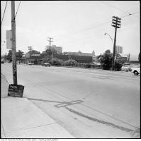 Historic photo from Friday, June 14, 1974 - Parcel 2235, vacant land used for parking, St. Clair Avenue West, north side, east of Bathurst Street  in Forest Hill