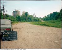 Historic photo from Friday, June 14, 1974 - Ravine land, looking south from Glenayr for subway construction in Forest Hill