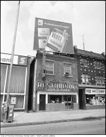 Historic photo from 1976 - Varsity Restaurant, 328 Bloor Street West, north side, east of Spadina Road in The Annex
